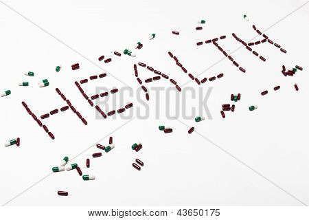 Word Health Created By Pills