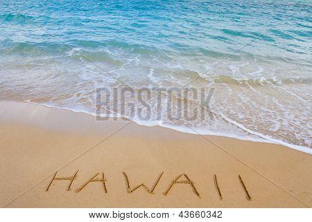 Hawaii Beach And Waves