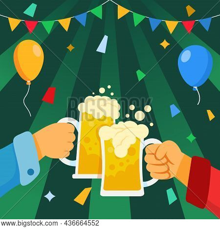 Celebrate New Year With Beer Toasting Party.