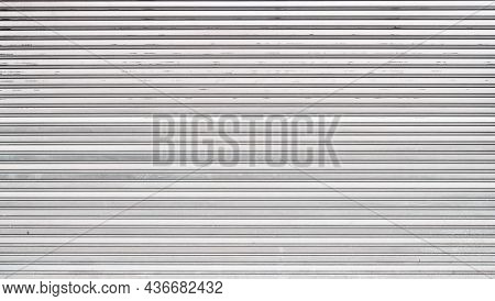 Beautiful metal shutter texture image