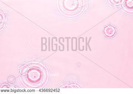 Water ripple texture background, pink design
