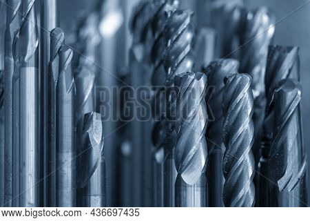 The Various Type Of The  Used Solid  Carbide Endmill Tools For Cnc Milling Machine .the  Cutting  To