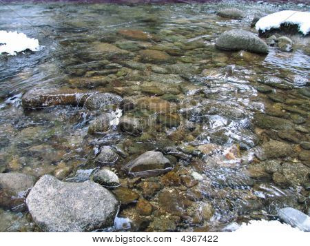 Small River In Slovakia