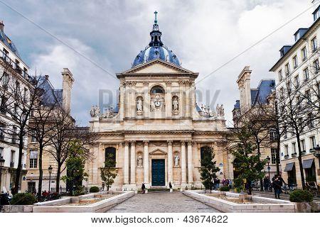 Sorbonne Square In Paris