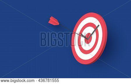 Arrow Hit The Target, Success Business, Concept Inspiration Business
