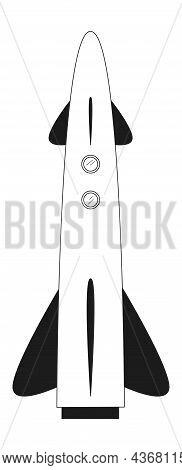 Rocket Launch. Business Starting Beginning Work Symbol