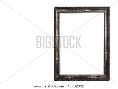 Classic Wooden Frame Isolated