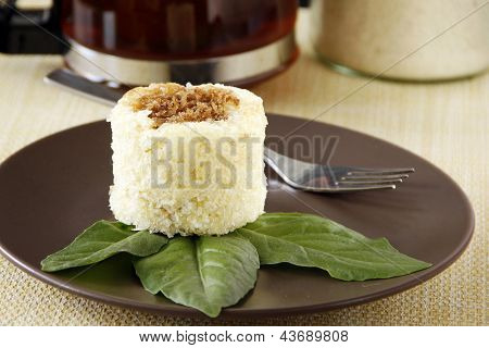A Cassava Cake