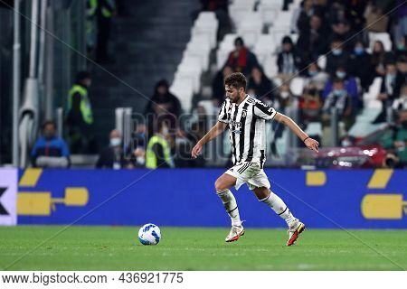 Torino, Italy. 17 October 2021. Manuel Locatelli Of Juventus Fc  During The Serie A Match Between Ju