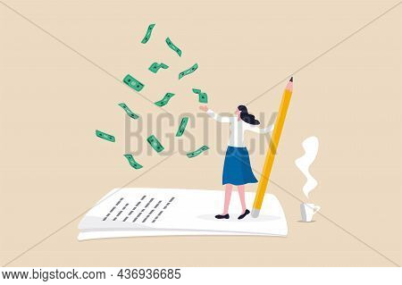 Make Money From Writing Blog Online, Monetize Content, Get Income Or Earning From Affiliate Links Co