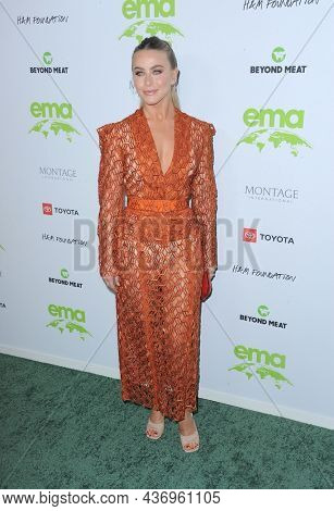 Julianne Hough at the Environmental Media Association (EMA) Awards Gala held at the GEARBOX LA in Los Angeles, USA on October 16, 2021.
