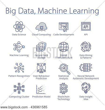 Big Data, Machine Learning, Computer Science Set