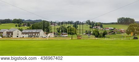 Scenery Around Immenstadt, A Town In The Upper Allgaeu In Bavaria, Germany
