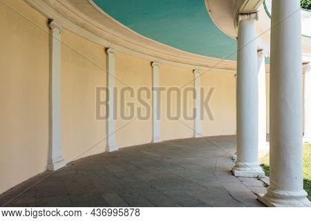 Echo Colonnade In Alexandria Park, Bila Tserkva, Ukraine.