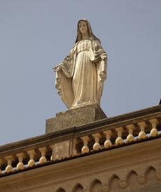 Alamo-Statue