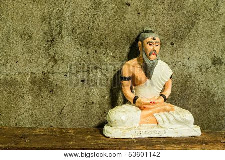 Still Life With Hermit Statue  , Medical Teacher Of India poster