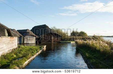Boat House on Broads