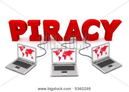 mehrere red Piraterie verkabelt