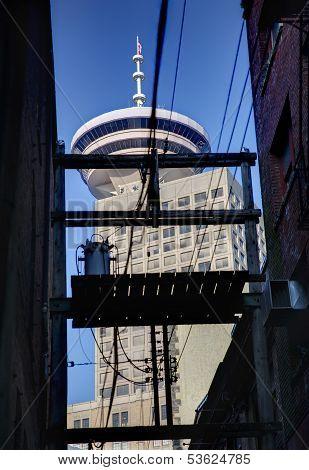 Vancouver Landmark Alley View
