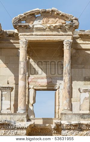 Library of Celsus in Ephesus Ancient City, Turkey poster