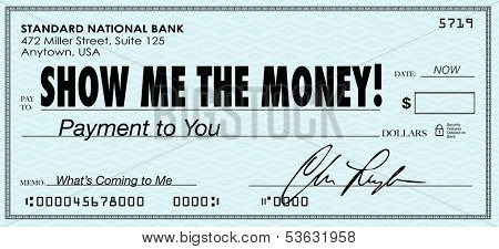 Show Me the Money Check Earnings Payday