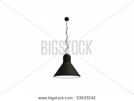 Black Matte Lamp