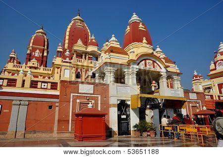 Indian hindu temple, New Delhi India