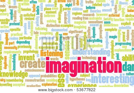 Imagination and Dare to Imagine as Concept poster