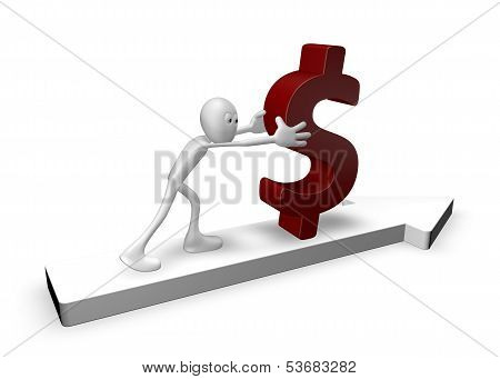Pushing Dollar