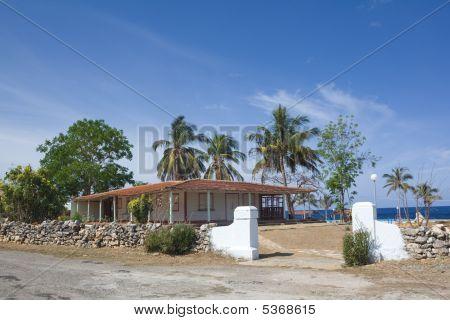 Wood House Near The Sea