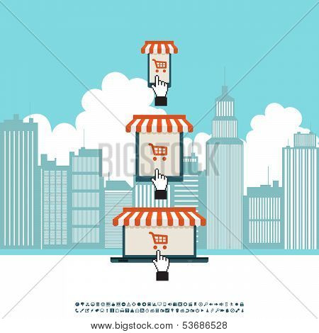 Online Mobile Electronic Store