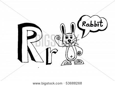A b c d e f g h i j k l m n o p q r s t u v w x y z cartoon text font Hand drawing vector letters