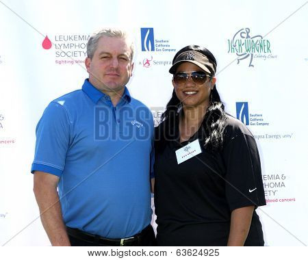 LOS ANGELES - APR 14:  LLS Staff at the Jack Wagner Anuual Golf Tournament benefitting LLS at Lakeside Golf Course on April 14, 2014 in Burbank, CA