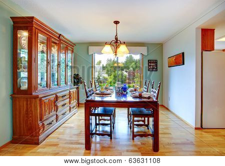 House Interior. Dining Area