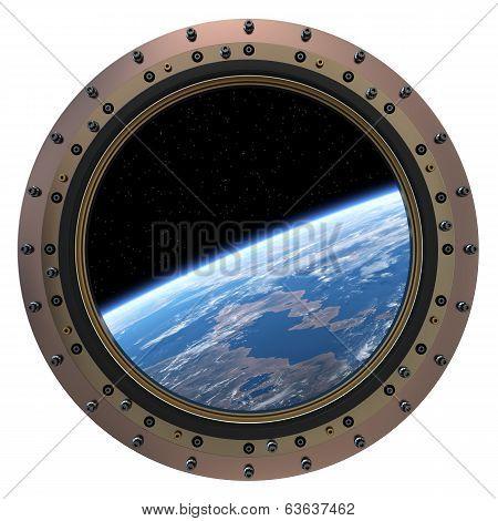 Space Station Porthole