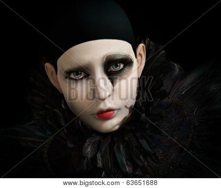 Black Pierrot, 3D Cg
