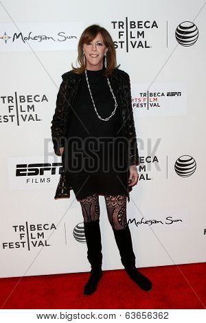 NEW YORK-APR 17: Producer Jane Rosenthal attends the 'When the Garden Was Eden' premiere at the 2014 TriBeCa Film Festival at the BMCC Tribeca PAC on April 17, 2014 in New York City.