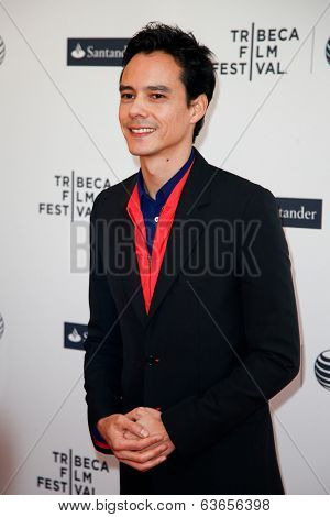 NEW YORK-APR 17: Director Frederic Tcheng attends the 'Dior and I' premiere during the 2014 TriBeCa Film Festival at the SVA Theater on April 17, 2014 in New York City.