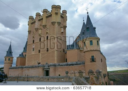 The Alcázar of Segovia, Spain.