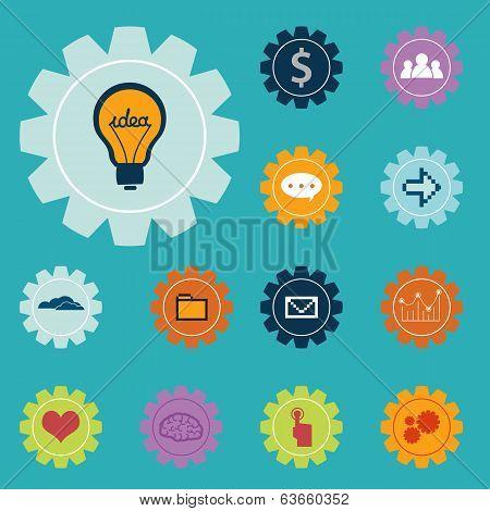 Creative Icons Set