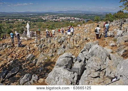 Hill Of Apparitions In Medjugorje