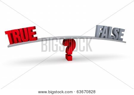Choosing Between True And False