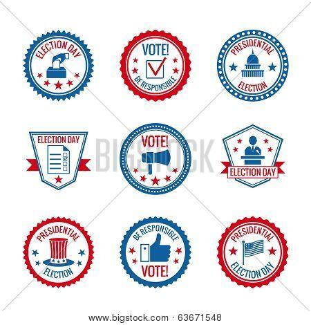 Elections labels set