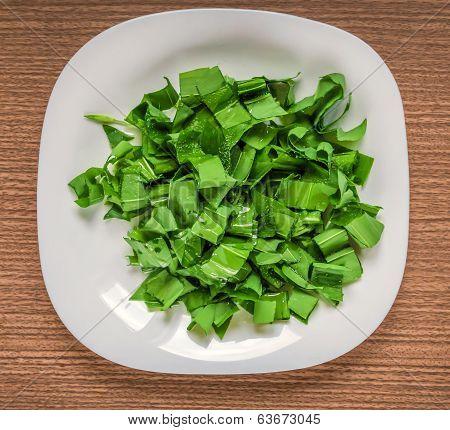 Cutted Wild Garlic