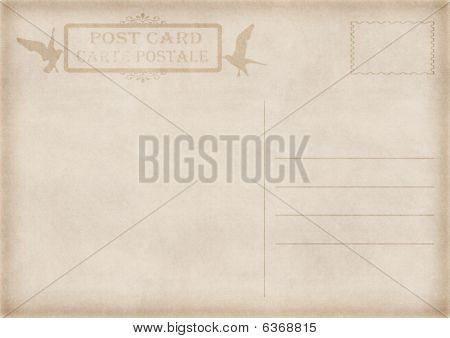 Vintage Postcard Illustration