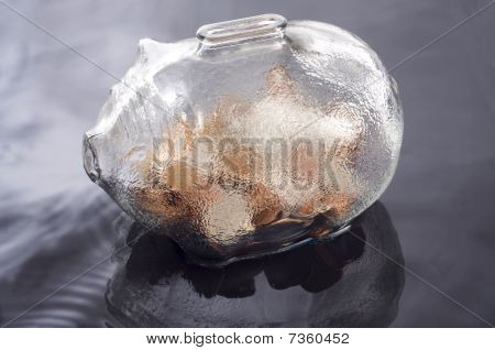 Piggy Bank Reflection