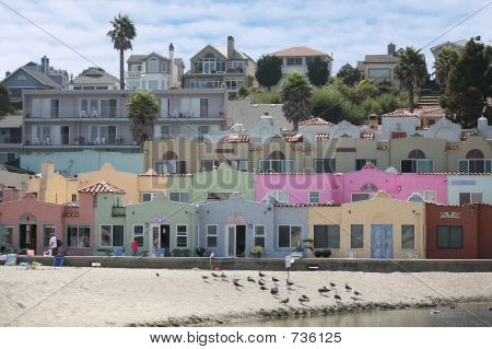 Colorful Beachfront Property