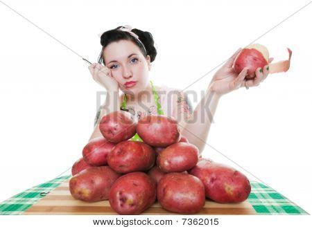 Potato Peeling Blues