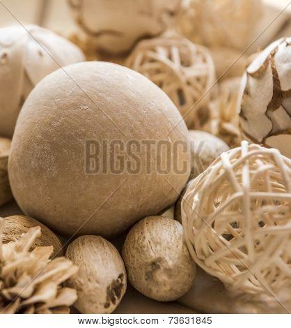 Beige Potpourri Balls