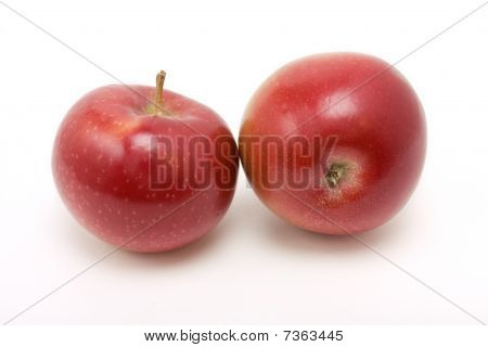 Red Macintosh Apple